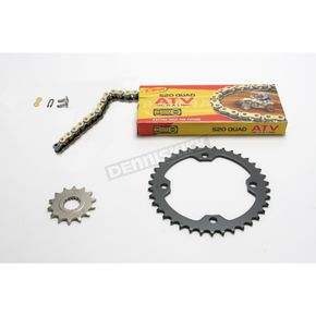 Regina 520 Quad Z-Ring Chain and Sprocket Kit - 5QUAD098KYA018