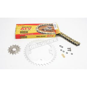 Regina 520 Quad Z-Ring Chain and Sprocket Kit - 5QUAD094KKA0