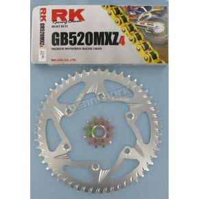 RK GB520KZ Chain and Sprocket Kit - 3012-978ZG