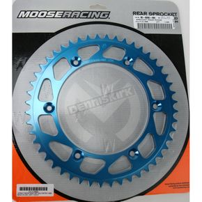Moose 48 Tooth Blue Rear Sprocket - 1211-0860