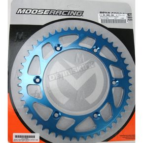 Moose 50 Tooth Blue Rear Sprocket - 1211-0862