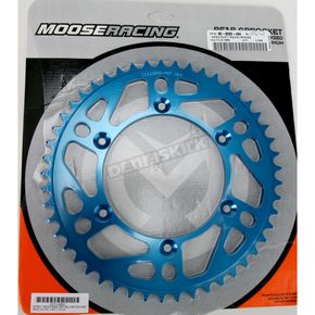 Moose 49 Tooth Blue Rear Sprocket - 1211-0865