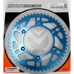 Moose 50 Tooth Blue Rear Sprocket - 1211-0866
