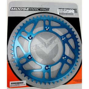 Moose 52 Tooth Blue Rear Sprocket - 1211-0868