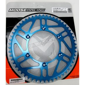 Moose 54 Tooth Blue Rear Sprocket - 1211-0869