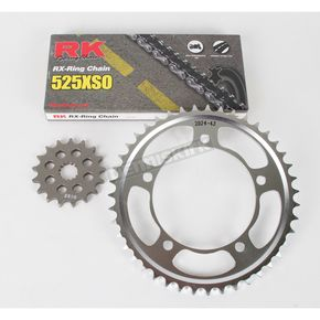 RK 525GXW Chain and Sprocket Kit - 3076-040W