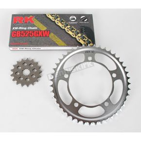 RK GB525GXW Chain and Sprocket Conversion Kit - 3106-071WG