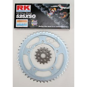 RK 525XSO Chain and Sprocket Kit - 3068-040W