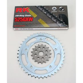 RK 525GXW Chain and Sprocket Kit - 3108-020W