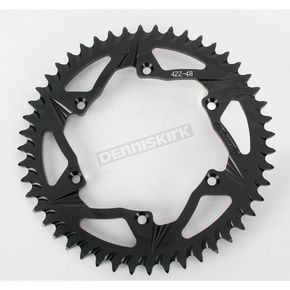 Vortex 48 Tooth Rear Aluminum Black Sprocket - 422K-48