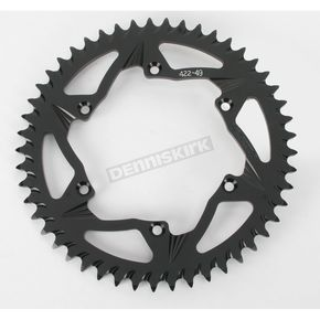 Vortex 49 Tooth Rear Aluminum Black Sprocket - 422K-49