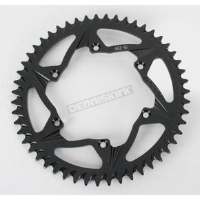 Vortex Rear Aluminum Black Sprocket - 422K-51
