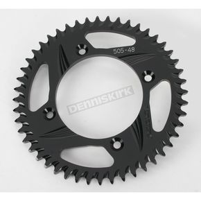 Vortex Rear Aluminum Black Sprocket - 505K-48