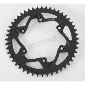 Vortex 48 Tooth Rear Aluminum Black Sprocket - 511K-48