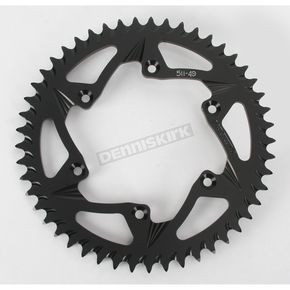 Vortex 49 Tooth Rear Aluminum Black Sprocket - 511K-49
