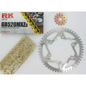RK GB520MXZ Chain and Sprocket Kit - 4022-998ZG