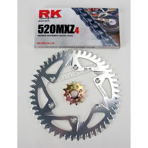 RK 520MXZ4 Chain and Sprocket Kit - 3022-078Z