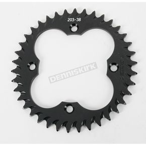 Vortex 38 Tooth Rear Aluminum Black Sprocket - 203K-38