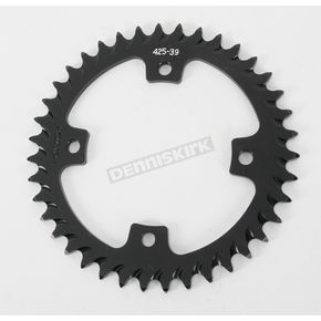 Vortex Rear Aluminum Black Sprocket - 425K39