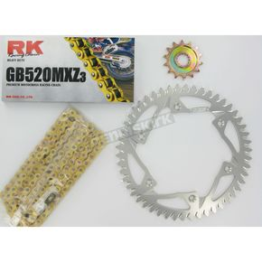 RK GB520MXZ Chain and Sprocket Kit - 4042-988ZG