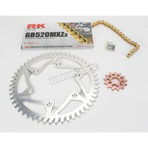 RK GB520MXZ Chain and Sprocket Kit - 5012-938ZG