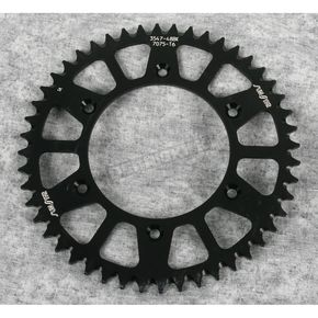 Sunstar 48 Tooth Black Anodized Rear Works Triplestar Aluminum Sprocket - 5-354748BK