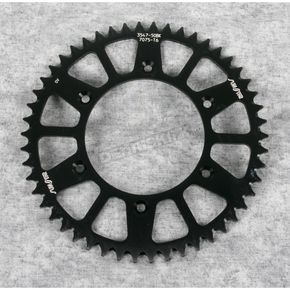 Sunstar 50 Tooth Black Anodized Rear Works Triplestar Aluminum Sprocket - 5-354750BK