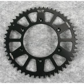 Sunstar 51 Tooth Black Anodized Rear Works Triplestar Aluminum Sprocket - 5-354751BK
