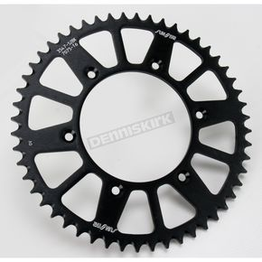 Sunstar 52 Tooth Black Anodized Rear Works Triplestar Aluminum Sprocket - 5-354752BK