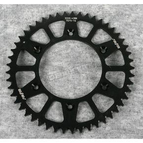 Sunstar 49 Tooth Black Anodized Rear Works Triplestar Aluminum Sprocket - 5-355949BK