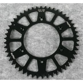 Sunstar 50 Tooth Black Anodized Rear Works Triplestar Aluminum Sprocket - 5-355950BK
