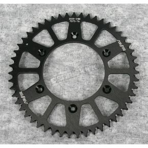 Sunstar 51 Tooth Black Anodized Rear Works Triplestar Aluminum Sprocket - 5-355951BK
