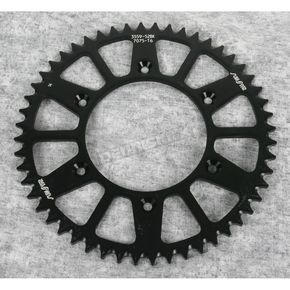 Sunstar 52 Tooth Black Anodized Rear Works Triplestar Aluminum Sprocket - 5-355952BK