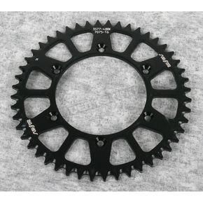 Sunstar 48 Tooth Black Anodized Rear Works Triplestar Aluminum Sprocket - 5-357748BK