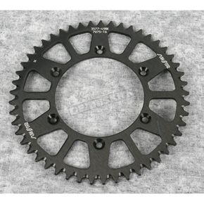 Sunstar 49 Tooth Black Anodized Rear Works Triplestar Aluminum Sprocket - 5-357749BK