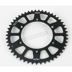 Sunstar 49 Tooth Black Anodized Rear Works Triplestar Aluminum Sprocket - 5-359249BK