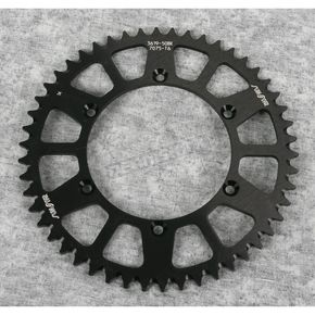 Sunstar 50 Tooth Black Anodized Rear Works Triplestar Aluminum Sprocket - 5-361950BK