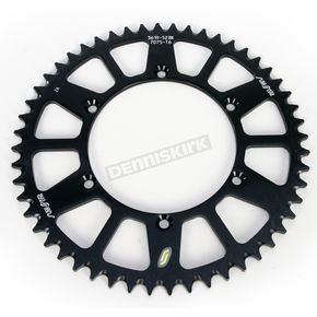 Sunstar 52 Tooth Black Anodized Rear Works Triplestar Aluminum Sprocket - 5-361952BK