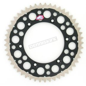 Renthal 49 Tooth Black TwinRing Heavy-Duty Sprocket - 1500-520-49GPBK