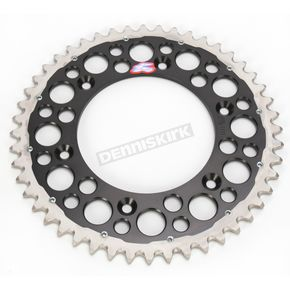 Renthal 48 Tooth Black TwinRing Heavy-Duty Sprocket - 1540-520-48GPBK