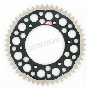 Renthal 50 Tooth Black TwinRing Heavy-Duty Sprocket - 1540-520-50GPBK