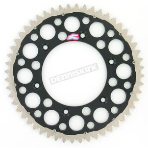 Renthal 52 Tooth Black TwinRing Heavy-Duty Sprocket - 2240-520-52GPBK