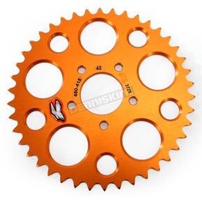 Renthal Orange Rear Sprocket - 48041542POR