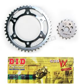 DID VX2 X-Ring Chain and Sprocket Kit - DKK-015G