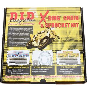 DID Steel 520VX2 Chain and Sprocket Kit - DKY-011