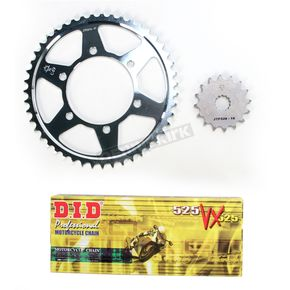 DID VX2 X-Ring Chain and Sprocket Kit - DKT-001