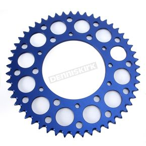 Renthal Blue Anodized Rear Sprocket  - 224U-520-51GPBU