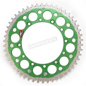 Renthal Green TwinRing Rear Sprocket - 112052050GPG