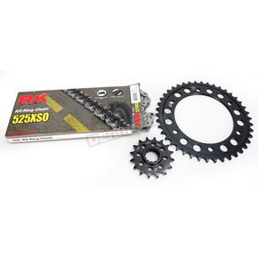 RK Natural HOnda 525XSO Chain and Sprocket Kit - 1062-070E