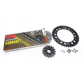 RK Natural Honda 530XSO-Z1 Chain and Sprocket Kit  - 1102-040E